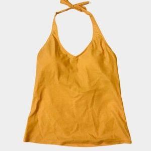 Sundance Yellow Tankini Halter Top Size M